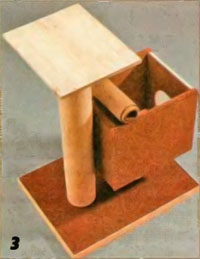 Как сделать домик из коробки своими руками